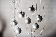 Glänzende Weihnachtsspielwaren Stockfoto