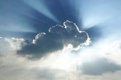 Glänzende Wolke Stockfotos