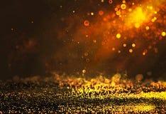 Glänzender abstrakter Hintergrund Bokeh Lizenzfreie Stockfotos