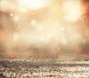 Glänzender abstrakter Hintergrund Bokeh Stockfotos