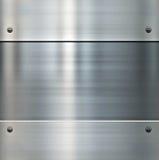 Glänzender aufgetragener Metallhintergrund Stockbilder