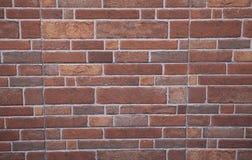 Glänzender Backsteinmauerbeschaffenheitshintergrund Heller abstrakter Mosaikbraunhintergrund mit Glanz Badezimmerfliesen für Hint Stockfoto