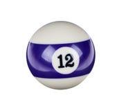 Glänzender Ball für Billard Lizenzfreie Stockfotos