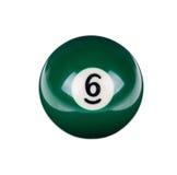 Glänzender Ball für Billard Stockbilder
