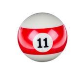 Glänzender Ball für Billard Stockfotos