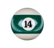 Glänzender Ball für Billard Lizenzfreies Stockbild