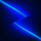 Glänzender blauer Hintergrund/texrure Stockfotografie