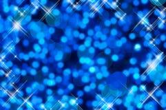 Glänzender Blaulichthintergrund Lizenzfreie Stockbilder
