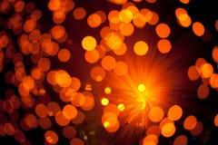 Glänzender bokeh Hintergrund Stockfoto