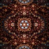 Glänzender dekorativer Hintergrund Lizenzfreie Stockfotografie