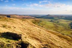 Glänzender Felsen in Cheshire Peak District Lizenzfreie Stockfotografie