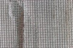 Glänzender funkelnder silberner Hintergrund Lizenzfreies Stockbild