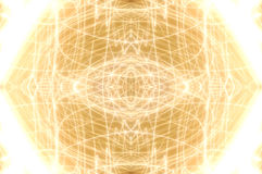 Glänzender goldener ovaler Hintergrund Lizenzfreie Stockfotos
