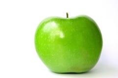 Glänzender grüner Apple Lizenzfreie Stockfotos