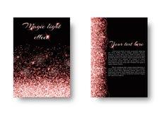 Glänzender Hintergrund mit Lichteffekt Lizenzfreie Stockbilder