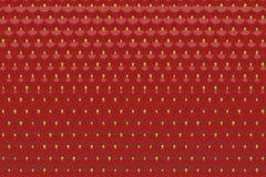 Glänzender Hintergrund von den reifen Erdbeeren 3d ?bertragen stockfoto