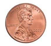 Glänzender Lincoln-Penny 2009 Stockbilder