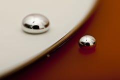 Glänzender Mercury lizenzfreies stockfoto