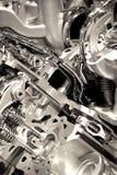 Glänzender Motor stockfoto