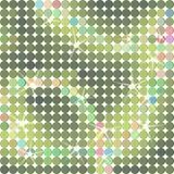 Glänzender Punkthintergrund im Grün Stockfotografie