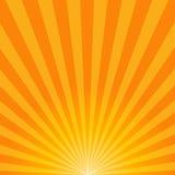 Glänzender Sommer-Sonnenuntergang Lizenzfreie Stockbilder