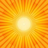 Glänzender Sommer Sun Lizenzfreies Stockbild