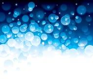 Glänzendes Blau lizenzfreie stockfotografie
