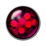 Glänzendes Dekorationsymbol Stockfoto