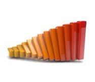 Glänzendes Diagramm Stockbilder