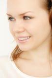 Glänzendes Gesicht Stockfotografie