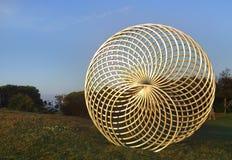 Glänzendes Goldmorgens Sonnenlicht Sisyphus Lizenzfreie Stockfotos