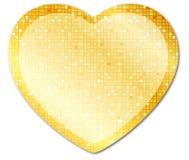 Glänzendes heart2 Lizenzfreie Stockfotografie