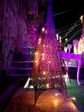 Glänzendes Nachtlicht Lizenzfreie Stockfotos