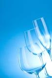 Glänzendes sauberes Glas Stockbilder