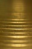 Glänzendes Trommelmetallplattemakro Lizenzfreies Stockbild