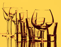 Gläser 01 Stockfotografie