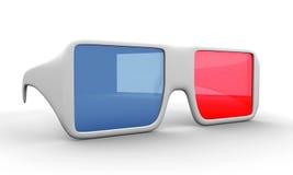 Gläser 3D lizenzfreie abbildung