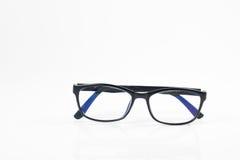 Gläser auf dem weißen Isolathintergrund Lizenzfreies Stockfoto