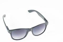 Gläser auf dem weißen Isolathintergrund Stockfotografie