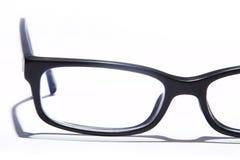 Gläser auf Weiß Lizenzfreie Stockfotos
