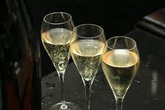 Gläser Champagner Lizenzfreie Stockfotos