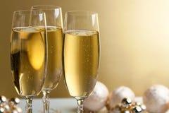 Gläser Champagner Lizenzfreies Stockbild