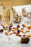 Gläser Champagner Stockfotos