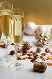 Gläser Champagner Stockbilder