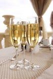 Gläser Champagner Stockbild