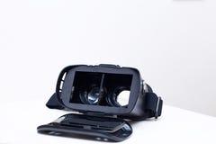 Gläser der virtuellen Realität Stockfotografie