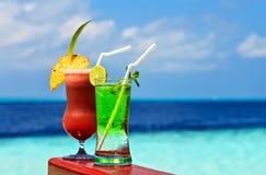 Gläser des alkoholfreien Getränkes Lizenzfreies Stockbild