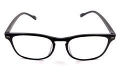 Gläser des blauen Auges lokalisiert auf Weiß Stockfotografie