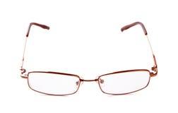 Gläser für Anblick getrennt auf einem weißen Hintergrund Stockfoto