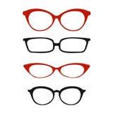 Gläser für Visionsvektor Lizenzfreie Stockfotos